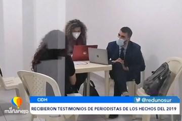 COMISIÓN DE CIDH RECIBIÓ TESTIMONIOS DE PERIODISTAS POR LOS HECHOS DE 2019