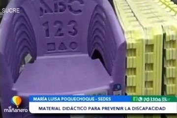 POSINOTICIA: ENTREGAN MATERIAL DIDÁCTICO A CENTROS DE SALUD