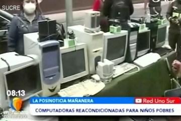 POSINOTICIA: COMPUTADORAS REACONDICIONADAS PARA NIÑOS DE ESCASOS RECURSOS