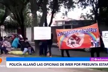 POLICÍA ALLANÓ LAS OFICINA DE IMER POR PRESUNTA ESTAFA