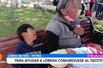 LORENA PIDE ATENCIÓN MÉDICA PARA SU HIJO