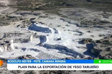 POSINOTICIA: PLAN PARA LA EXPORTACIÓN DE YESO TARIJEÑO