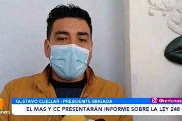 EL MAS Y CC PRESENTARÁN INFORMES SOBRE LA LEY 248