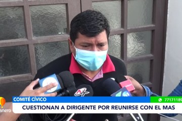 CUESTIONAN A DIRIGENTE POR REUNIRSE CON EL MAS