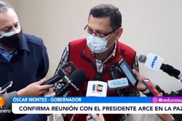 MONTES SE REUNIRÁ CON EL PRESIDENTE ARCE EN LA PAZ