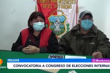 CONVOCATORIA A CONGRESO DE ELECCIONES INTERNAS EN FEDJUVE