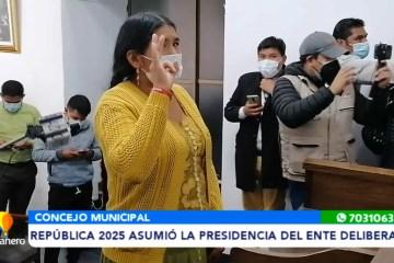 REPÚBLICA 2025 ASUMIÓ LA PRESIDENCIA DEL CONCEJO MUNICIPAL