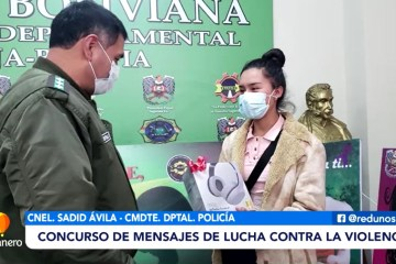 CONCURSO DE MENSAJES DE LUCHA CONTRA LA VIOLENCIA