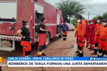 POSINOTICIA: BOMBEROS DE TARIJA FORMAN UNA JUNTA DEPARTAMENTAL