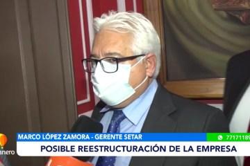 POSIBLE REESTRUCTURACIÓN DE SETAR