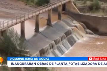 INAUGURARÁN OBRAS DE PLANTA POTABILIZADORA DE AGUA