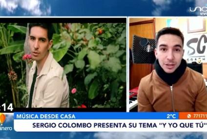 """SERGIO COLOMBO PRESENTA SU TEMA """"Y YO QUE TÚ"""""""