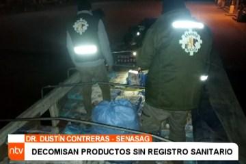 DECOMISAN PRODUCTOS SIN REGISTRO SANITARIO