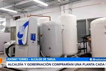 ALCALDÍA Y GOBERNACIÓN COMPRARÍAN UNA PLANTA DE OXÍGENO CADA UNO
