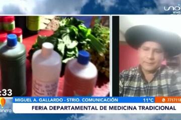 FERIA DEPARTAMENTAL DE MEDICINA TRADICIONAL
