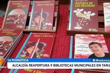 POSINOTICIA: ALCALDÍA REAPERTURA NUEVE BIBLIOTECAS MUNICIPALES