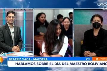 HABLAMOS SOBRE EL DÍA DEL MAESTRO BOLIVIANO