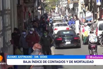 BAJA EL ÍNDICE DE CONTAGIOS Y DE MORTALIDAD