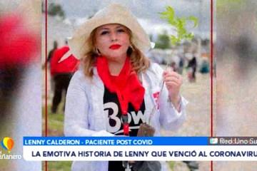 LA EMOTIVA HISTORIA DE LENNY QUE VENCIÓ AL CORONAVIRUS