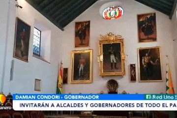 INVITARÁN A ALCALDES Y GOBERNADORES DE TODO EL PAÍS