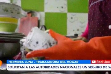 TRABAJADORAS DEL HOGAR SOLICITAN UN SEGURO DE SALUD A AUTORIDADES NACIONALES