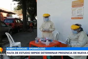 FALTA DE ESTUDIO IMPIDE DETERMINAR PRESENCIA DE NUEVA CEPA