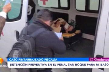 DETENCIÓN PREVENTIVA EN EL PENAL SAN ROQUE PARA BASCOPÉ