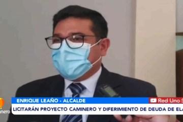 LICITARÁN PROYECTO CAMINERO Y DIFERIMIENTO DE DEUDA DE ELAPAS