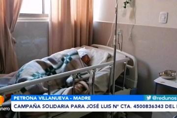 CAMPAÑA SOLIDARIA PARA JOSÉ LUIS, N° CTA. 4500836343 DEL BNB