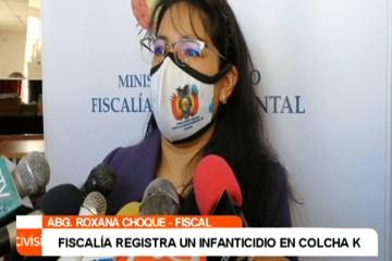 FISCALÍA REGISTRA UN CASO DE INFANTICIDIO EN COLCHA K
