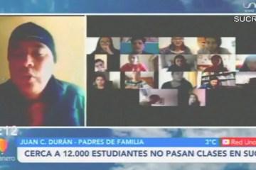 TEMA DEL DÍA: CERCA A 12.000 ESTUDIANTES NO PASAN CLASES EN SUCRE