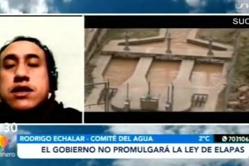 EL GOBIERNO NO PROMULGARÁ LA LEY DE ELAPAS