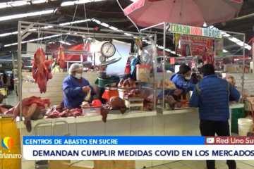 DEMANDAN CUMPLIR MEDIDAS DE BIOSEGURIDAD EN LOS MERCADOS