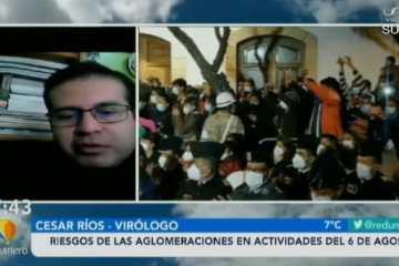 RIESGOS DE LAS AGLOMERACIONES EN ACTIVIDADES DEL 6 DE AGOSTO