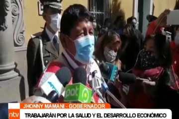 BOLIVIA FESTEJA SU ANIVERSARIO EN PANDEMIA