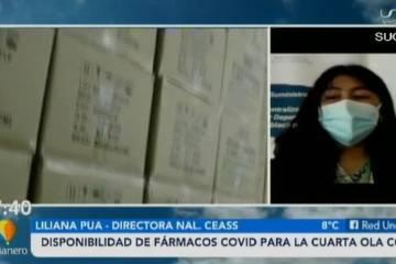 DISPONIBILIDAD DE FÁRMACOS COVID-19 PARA LA CUARTA OLA