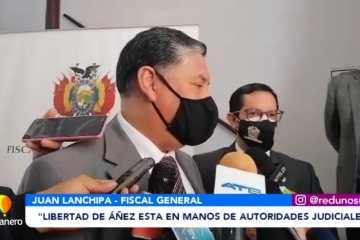 """LIBERTAD DE ÁÑEZ ESTÁ EN MANOS DE AUTORIDADES JUDICIALES"""