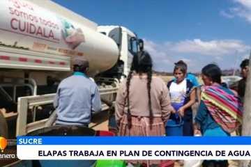 ELAPAS TRABAJA EN PLAN DE CONTINGENCIA DE AGUA