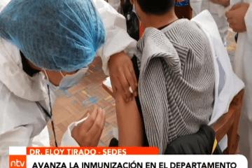 AVANZA INMUNIZACIÓN EN EL DEPARTAMENTO DE POTOSÍ