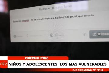 CIBERBULLYING: NIÑOS ADOLECENTES, LOS MÁS VULNERABLES