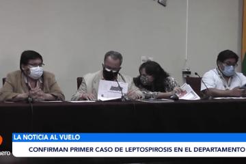 CONFIRMAN EL PRIMER CASO DE LEPTOSPIROSIS EN EL DEPARTAMENTO