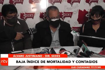 BAJA EL ÍNDICE DE MORTALIDAD Y CONTAGIOS