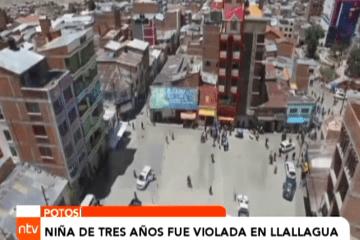 NIÑA DE TRES AÑOS FUE VIOLADA EN LLALLAGUA