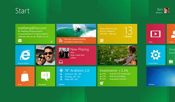 Nueva interfaz de Windows 8
