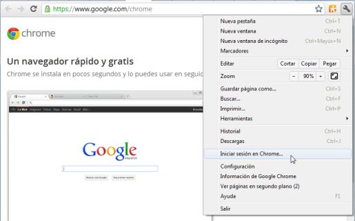 Para poder usar esta función hay que loguearse en el navegador.
