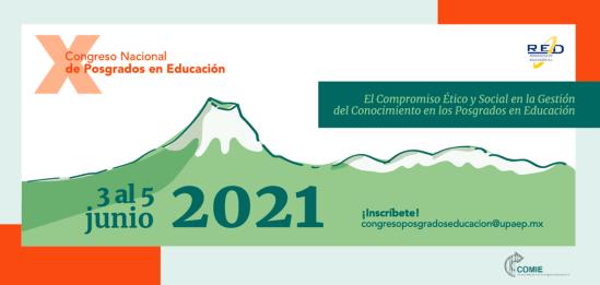 X Congreso Nacional de Posgrados en Educación