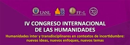 IV CONGRESO INTERNACIONAL DE LAS HUMANIDADES