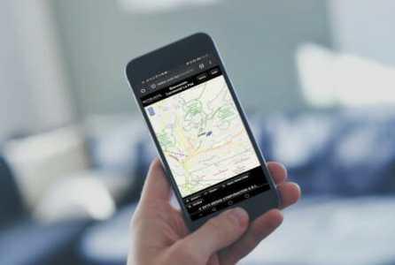 satelicar smartphone