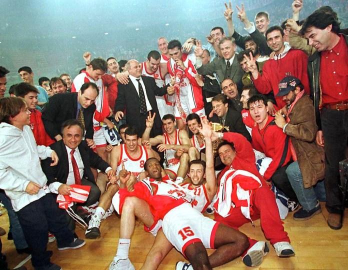 olympiacos euroleague 1997