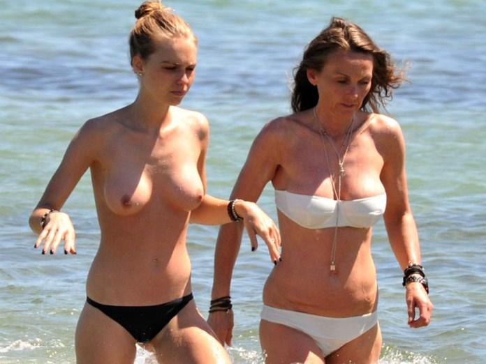 Katharina Damm Topless Bikini Candids At The Beach In St. Tropez www.GutterUncensored.com 011